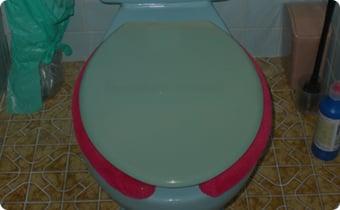 トイレが古い