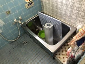 タイルのお風呂