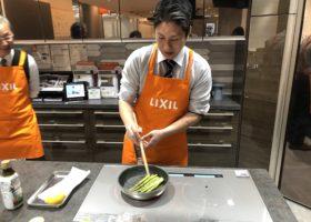 LIXILキッチン リシェルSIで作る料理で時間と手間を短縮